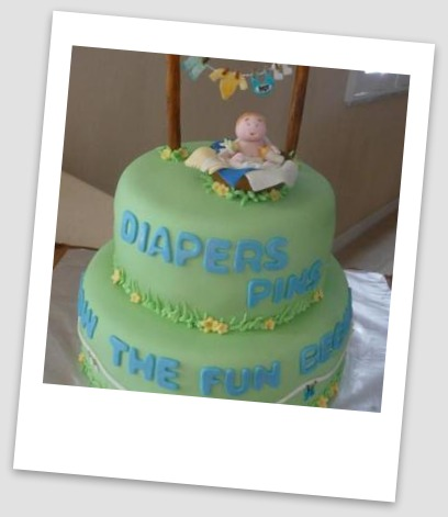Clever Sayings For Baby Shower Cake