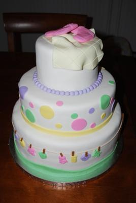 baby laundry cake picture