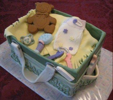 Coach Diaper Bag Cake Picture