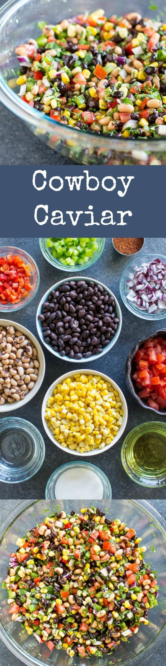 banner for cowboy caviar baby shower appetizers
