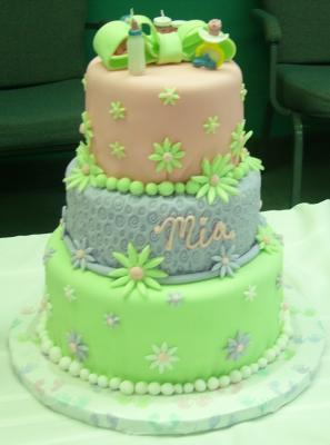 picture of a cute flower cake