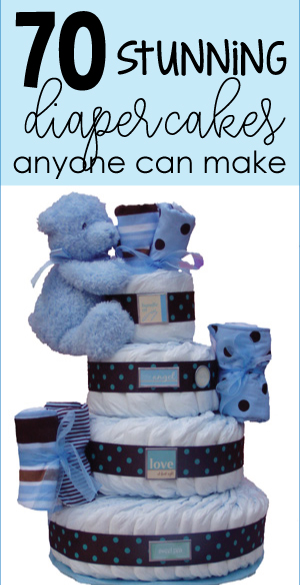 teddy bear diaper cake banner