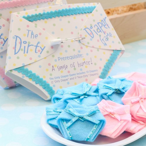 The dirty diaper baby shower game