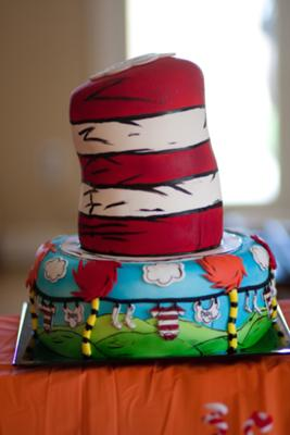 Picture Of Dr. Seuss Cake