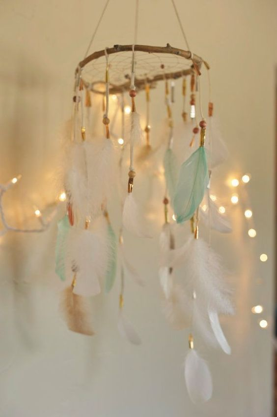 picture of a dream catcher for a baby shower