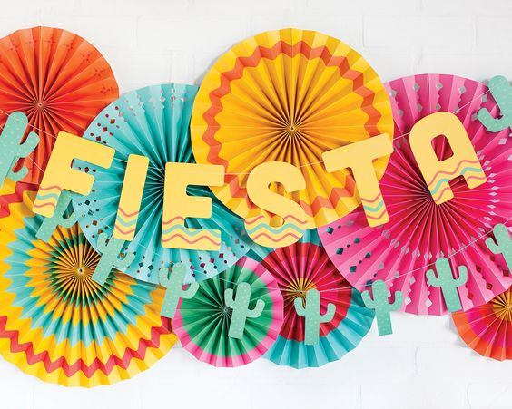 DIY fiesta banner for a party