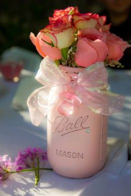 Baby Shower Flower Arrangements Picture