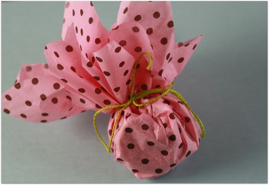 image of baby shower flower favors