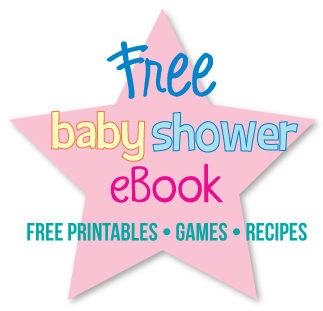 A baby shower ebook filled with popular, low-cost ideas and free