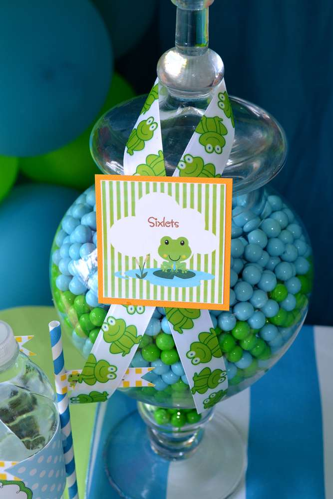 Frog Baby Shower Candy