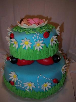 picture of a ladybug cake