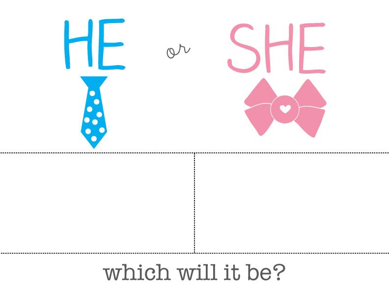 gender reveal game