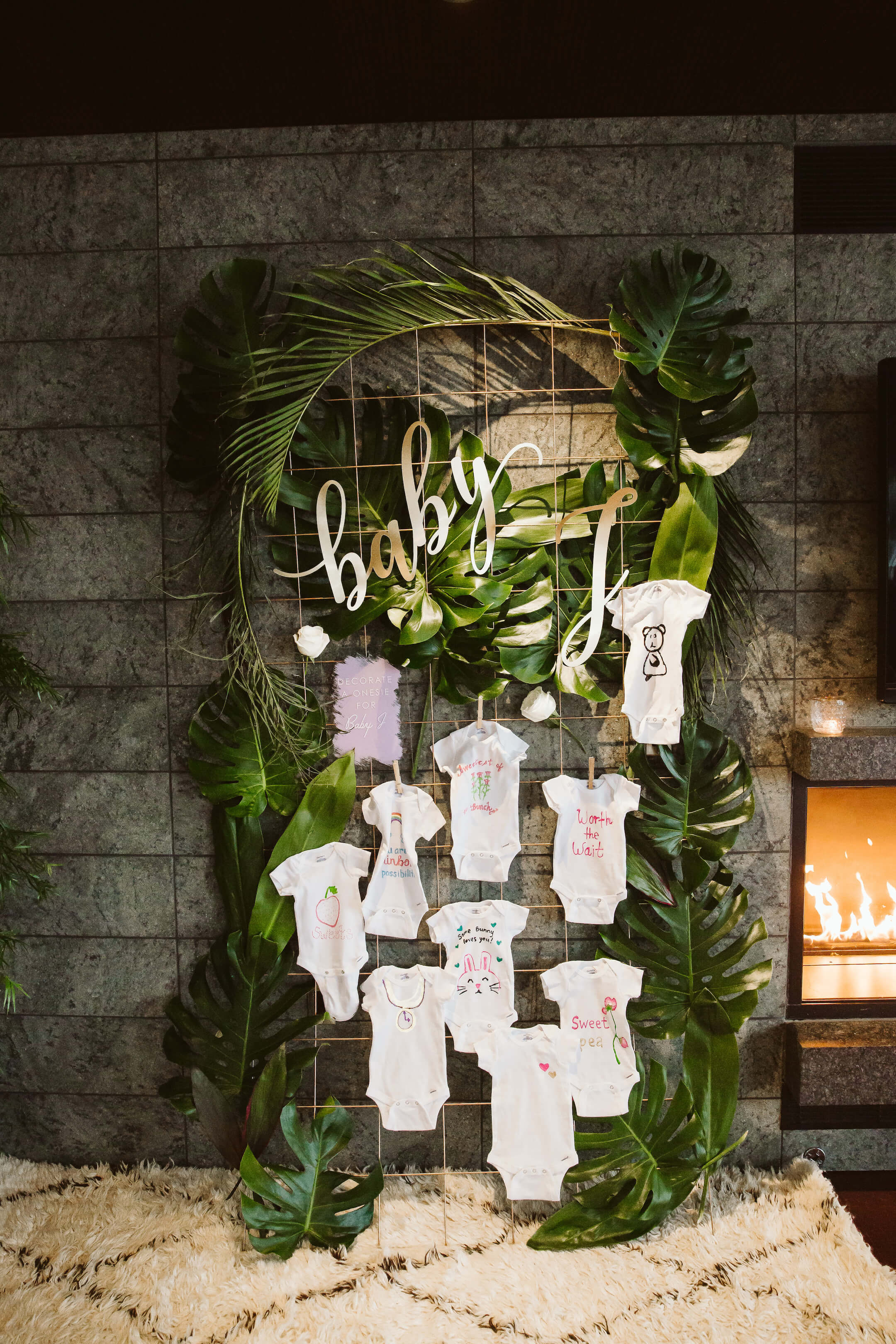 Hawaiian Lavender Baby Shower