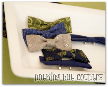 little man baby shower bow ties picture