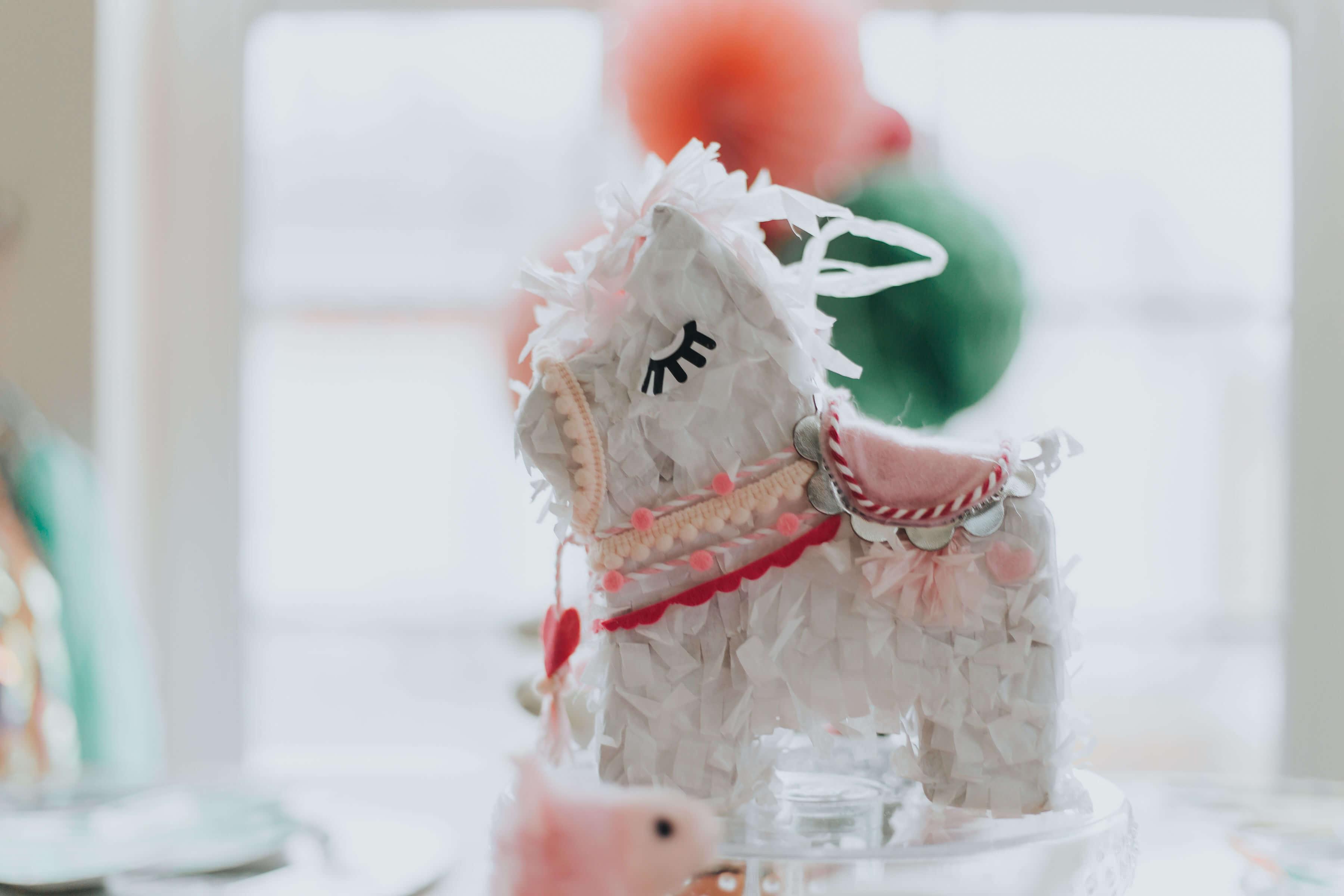 Little llama Southwestern party baby shower