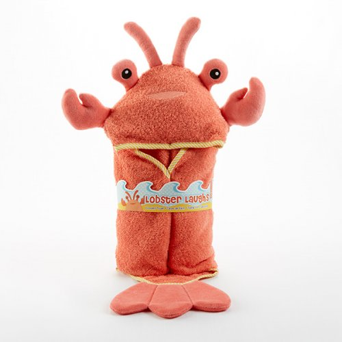 picture of adorable lobster baby towel