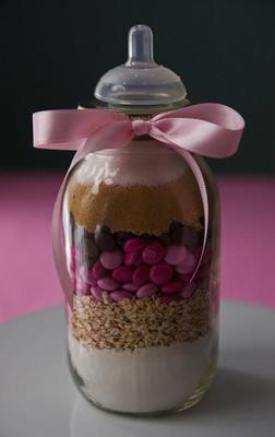 Motherhood Chocolate Chip Cookies in A Jar