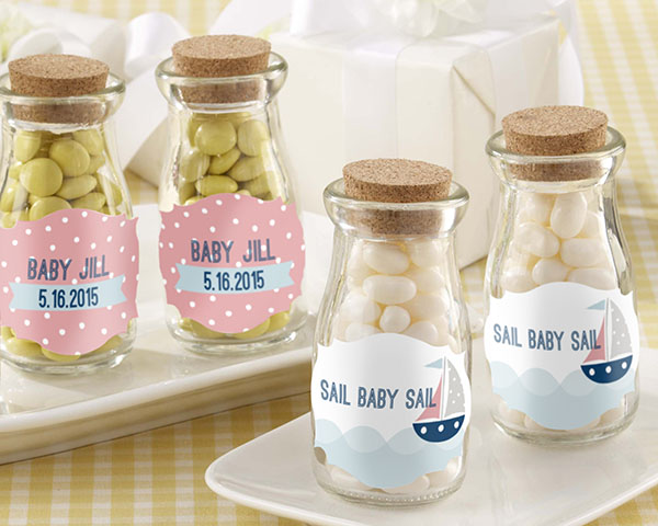 girl baby shower favors banner