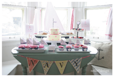 nautical baby shower picture
