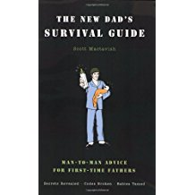image of the new dad's survival guide book
