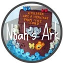 banner for noah's ark cake ideas