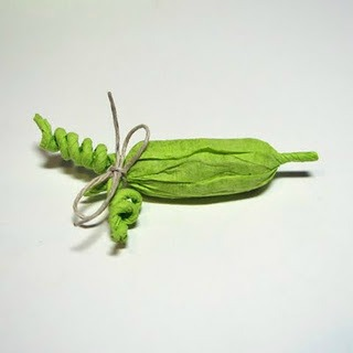 picture of pea pod baby shower favor ideas