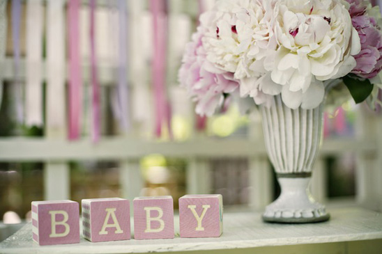 Wonderful Lavender And Pink Baby Shower