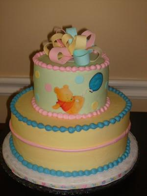 Diy Winnie The Pooh Baby Shower Cakes So Cute And Clever