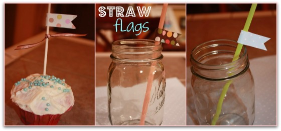 discount baby shower supplies free printable straw flags