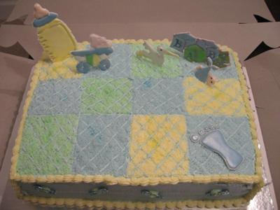 Quilt Cake For A Boy