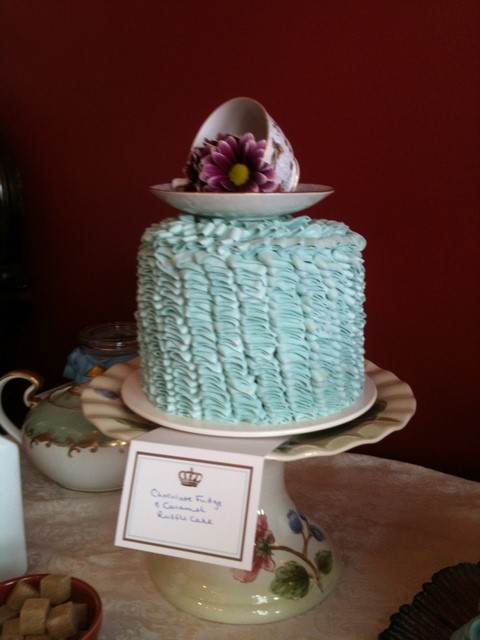 Royal Baby Shower cake picture