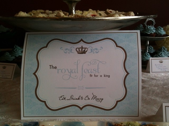 Image For Royal Baby Shower Place Cards