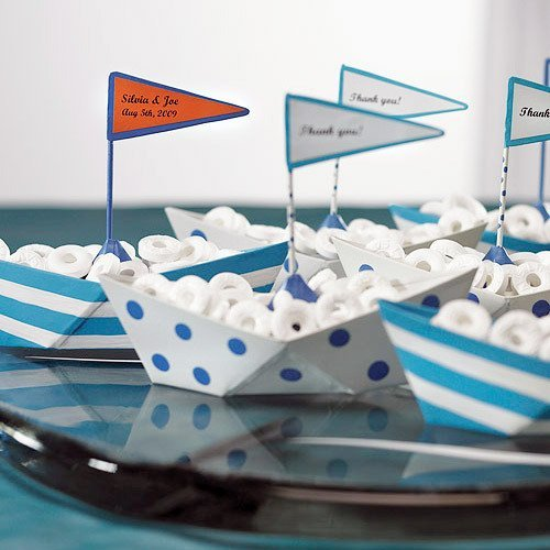 baby shower boat favors