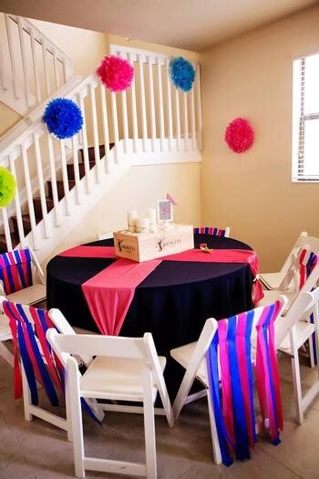 picture of a colorful sailboat baby shower