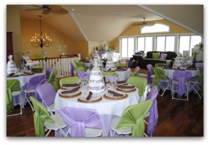 image of clever sip n see table setting ideas
