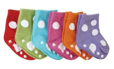 baby shower sock folding game image
