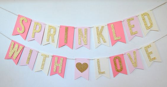 sprinkled with love banner