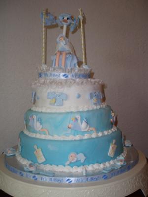 Cutest Stork Baby Shower Theme Ideas Cakes Clipart