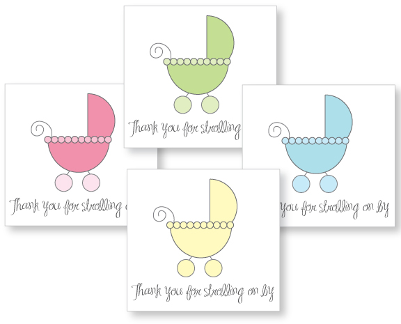 Creative Baby Carriage Shower Theme Ideas