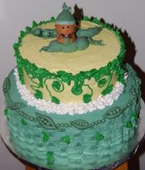 sweet pea pod cake