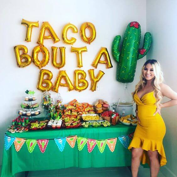Taco Bout A Baby Theme For A Baby Shower