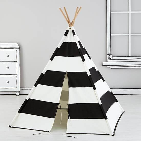 tee pee from land of nod banner