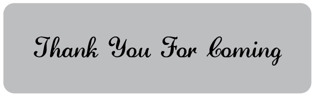 thank you for coming printable favor tags