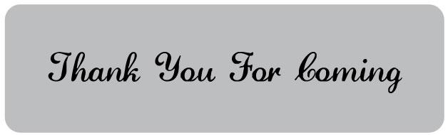 thank you for coming printable favor tags