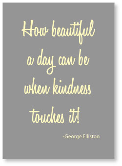 FREE Printable Kindness Quote - Wall Art