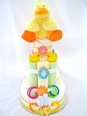 The Rubber Ducky Diaper Cake