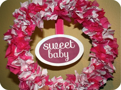 Baby Shower Craft Ideas with FREE printables! Homemade washcloth