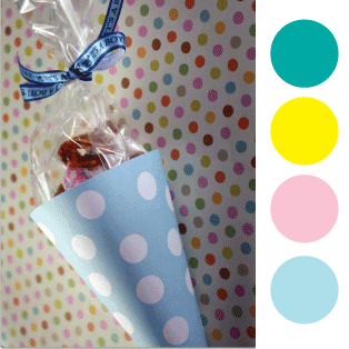 printable baby shower treat cones picture