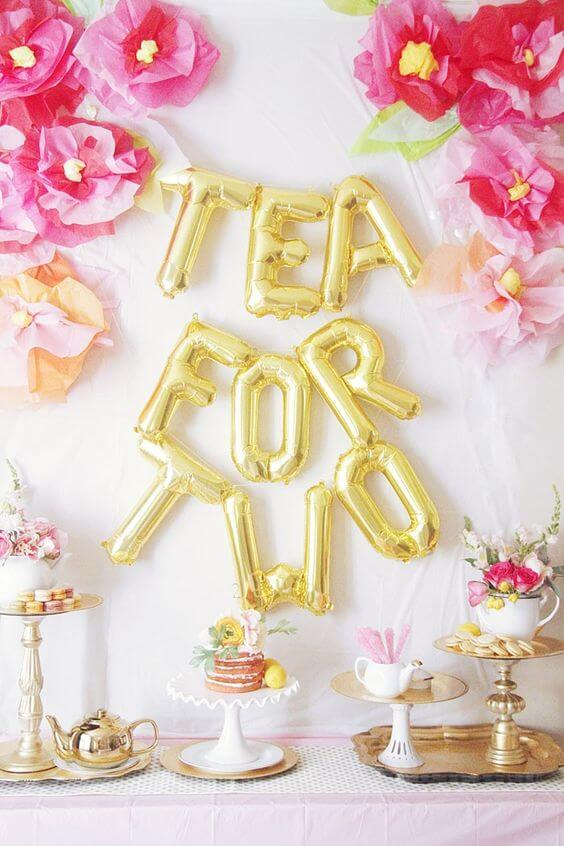 Twin baby shower ideas for the cutest baby shower for Baby shower decoration ideas for twin girls