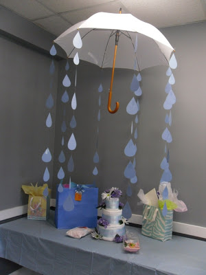 Great Parasol Baby Shower Image